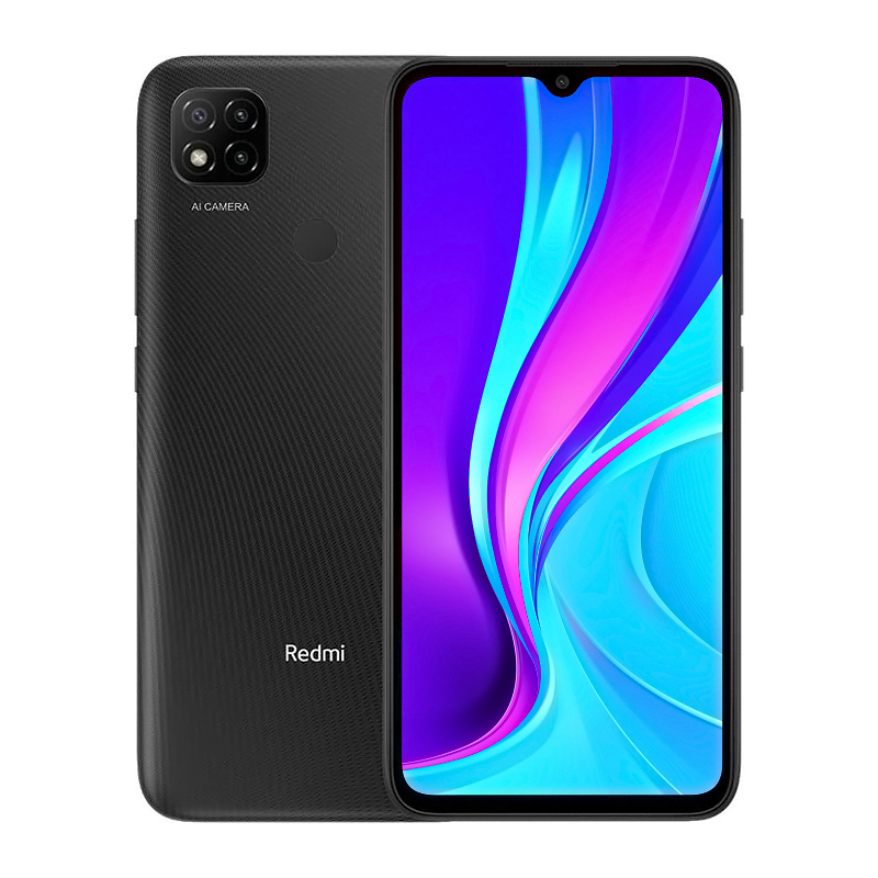 Redmi 9C 3/64GB NFC Midnight Gray