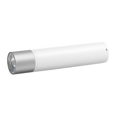 Фонарик Xiaomi Mi Power Bank Flashlight 3350 мАч (LPB01ZM) White